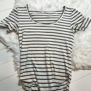 American Eagle Soft and Sexy Bodysuit Striped